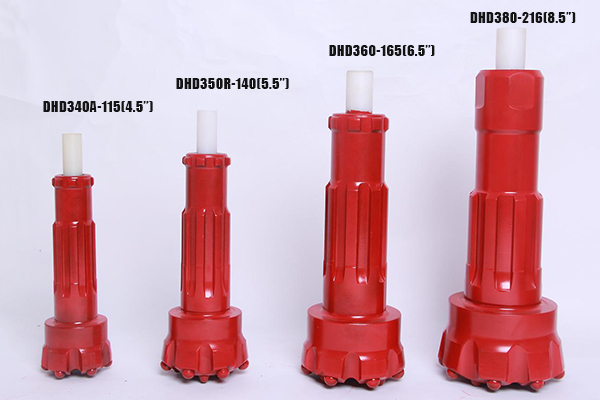 DHD shank DTH Bits selection
